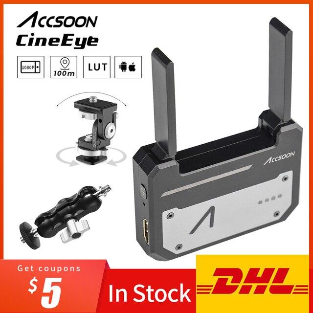 Accsoon CineEye Wireless 5G 1080P Mini HDMI Übertragung Gerät Video Sender Für IOS iPhone für iPad Andriod Telefon