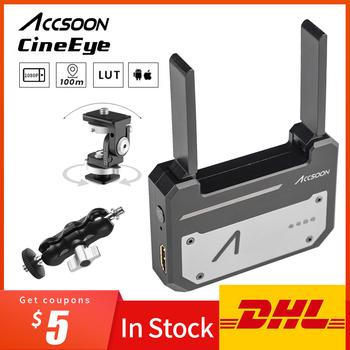 Accsoon CineEye bezprzewodowy 5G 1080P Mini HDMI urządzenie transmisyjne nadajnik wideo dla IOS iPhone dla ipada Andriod telefon tanie i dobre opinie AMBITFUL