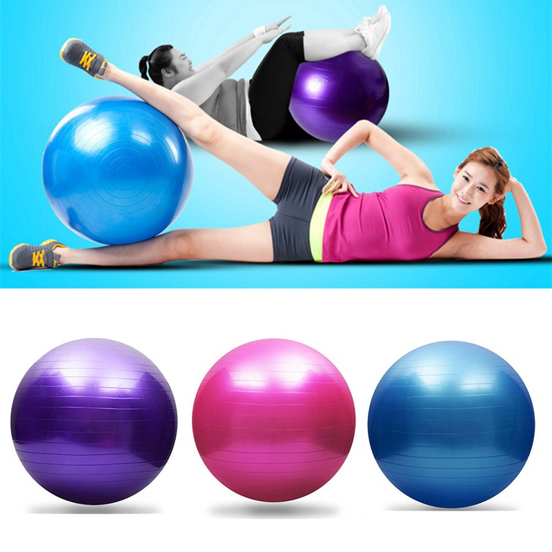 Sports Yoga Balls Bola Pilates Fitness Ball Gym Balance Fitball Exercise Pilates Workout Massage Ball With Pump 25cm