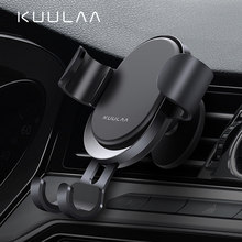 KUULAA voiture support pour téléphone gravité support Mobile monture de support dans voiture support de téléphone support pour Xiaomi Redmi Note 7(China)