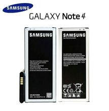 Original Samsung Galaxy Note 4 battery 3220 mAh EB-BN910BBE for Galaxy SM-N910W8 N910A N910V N910T Batteries
