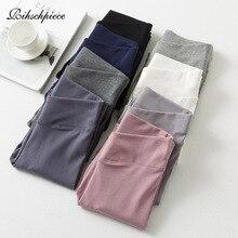 Rihschpiece, весенние леггинсы с высокой талией, женские Стрейчевые леггинсы, готические черные повседневные леггинсы, тонкие базовые штаны, RZF1649
