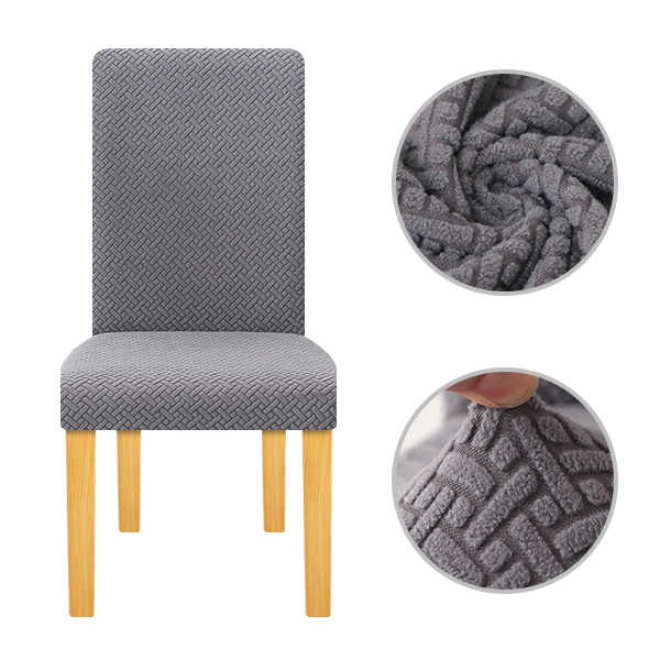 Terrific Lellen Waterproof Oil Proof Jacquard Chair Cover Stretch Pabps2019 Chair Design Images Pabps2019Com