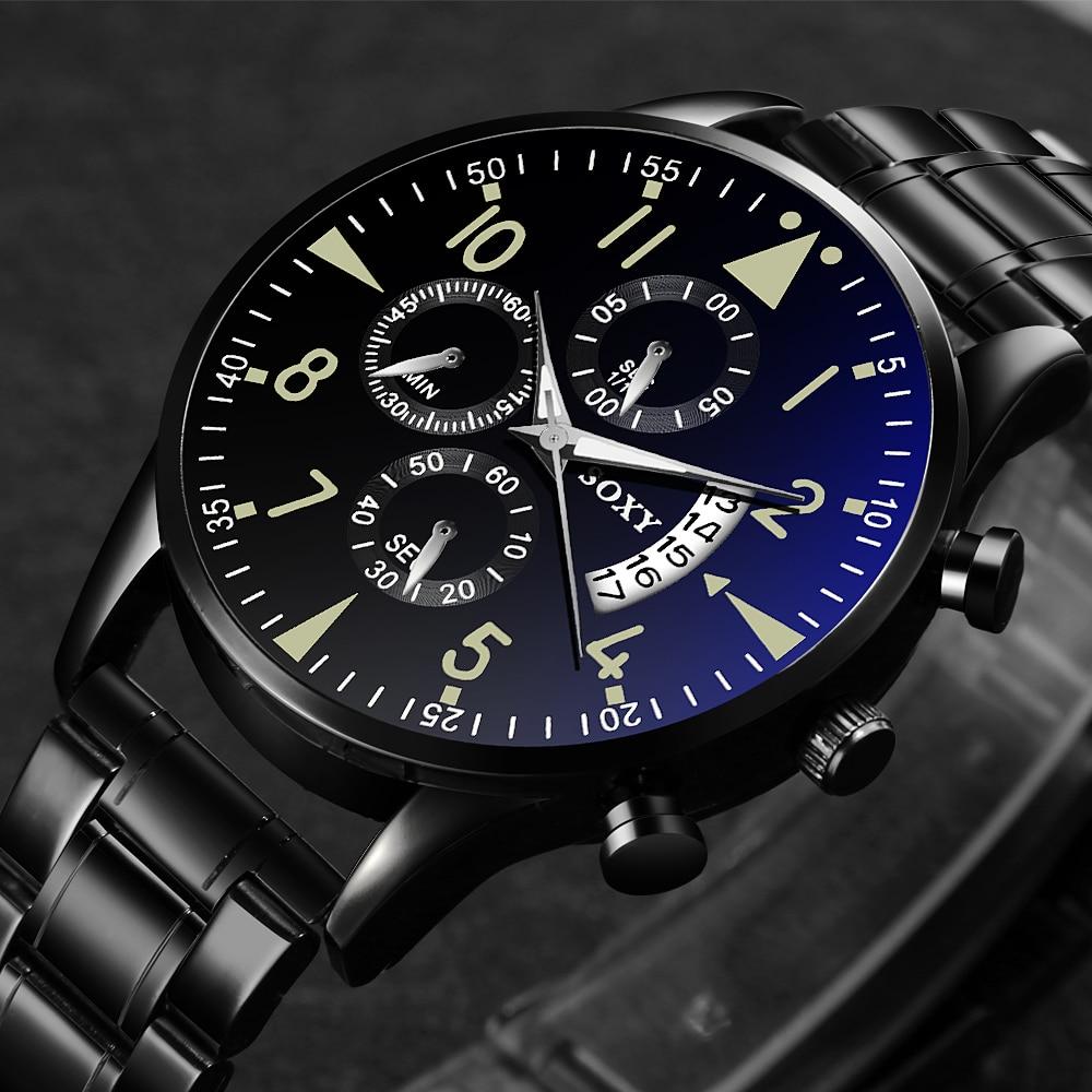 Men's Watch 2019 Top Brand Luxury Luminous Date Clock Sports Watches Men Quartz Casual Wrist Watch Men Clock Relogio Masculino