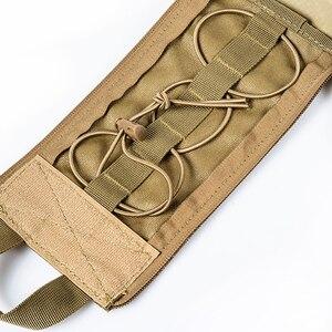 Image 2 - 캠핑 응급 처치 키트 응급 처치 가방 빈 의료 가방 방수 군사 전술 블랙 야외
