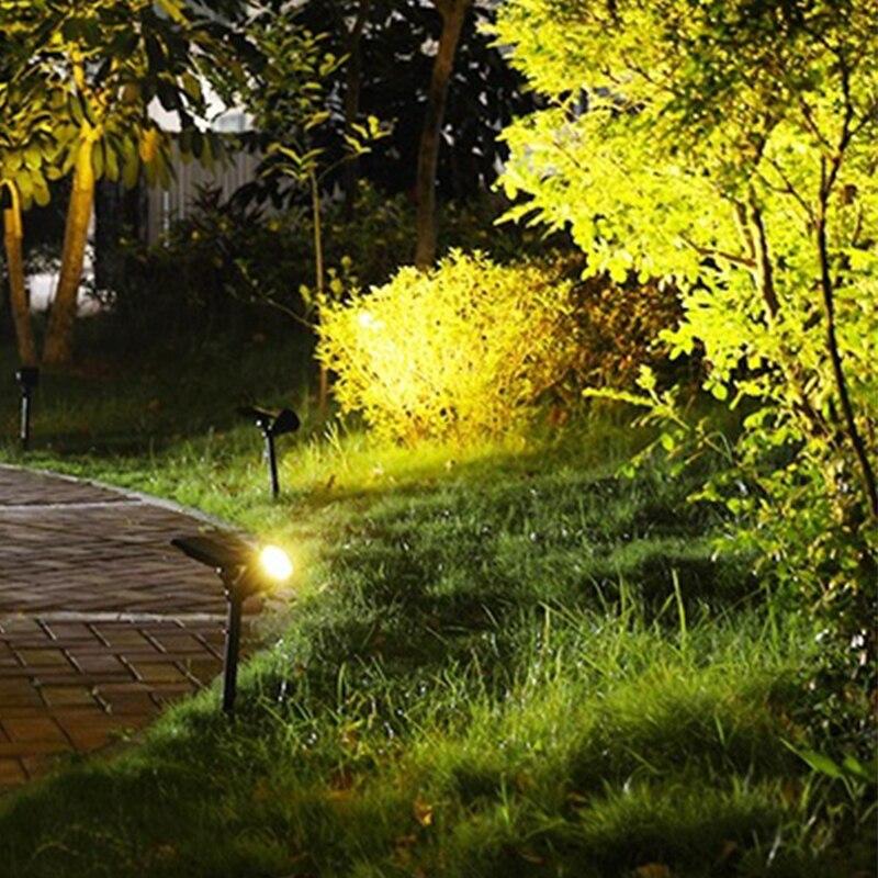 2-em-1 4 led luz de parede ajustável