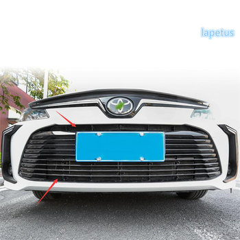 Lapetus Screening Mesh Front Grille Insert Net Protection Cover Kit Trim Fit For Toyota Corolla 2019 2020 Exterior Kit