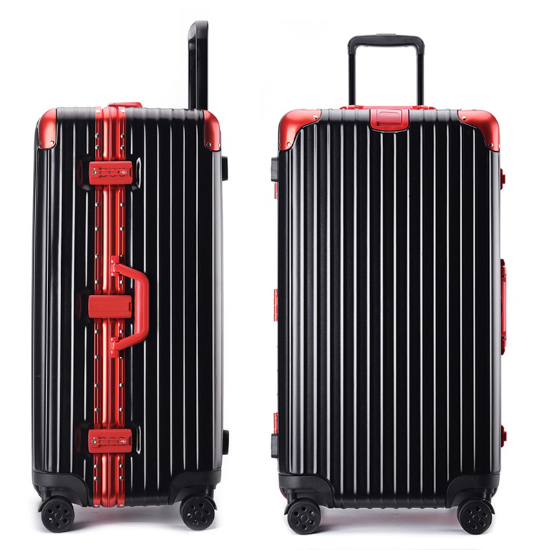 Manufacturers Direct Selling Aluminum Frame Travel Trolley Universal Wheel Luggage 32-Inch Thickening Large Capacity Luggage And