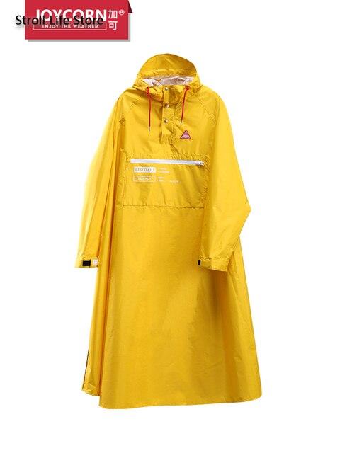 Long Style Women Raincoat Full Body Windproof Motorcycle Rain Coat Jacket Riding Poncho Men Yellow Gabardina Mujer Birthday Gift