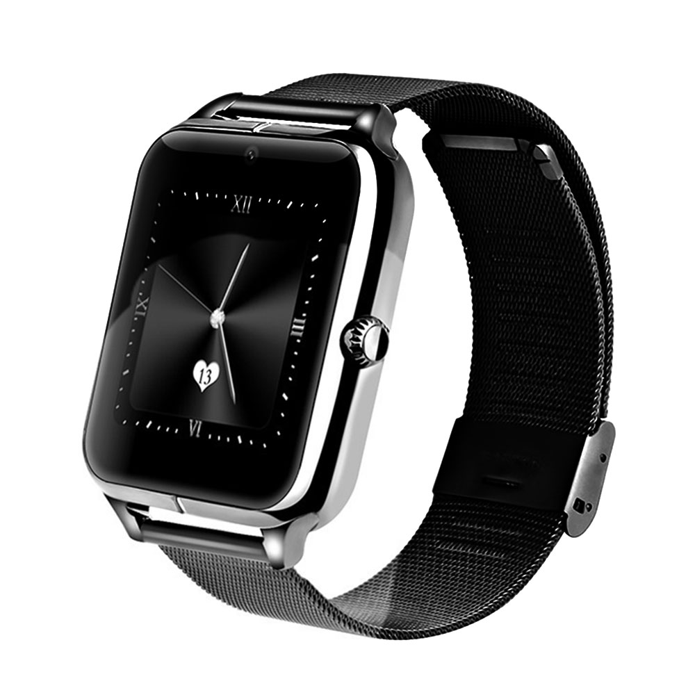 Z60 Smart Watch GT08 Plus Metal Strap Bluetooth Wrist Smartwatch Support Sim TF Card Smart-Watch For Android&IOS Multi-languages