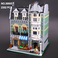 LELE 30005 ideas series the Green House Model building kits 15008 architectural model educational toys Gifts free shipping 10185