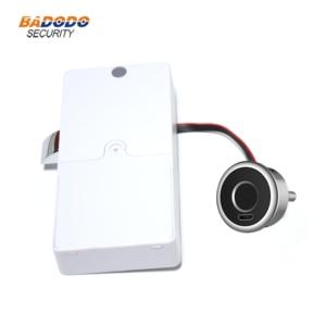 Image 2 - Mini cerradura de huella dactilar inteligente, cerradura de puerta eléctrica biométrica para cajón de armario