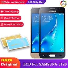 10 Stks/partij Voor Samsung Galaxy J1 2016 J120 J120F J120M J120H J120FN Lcd Touch Screen Digitizer Vergadering