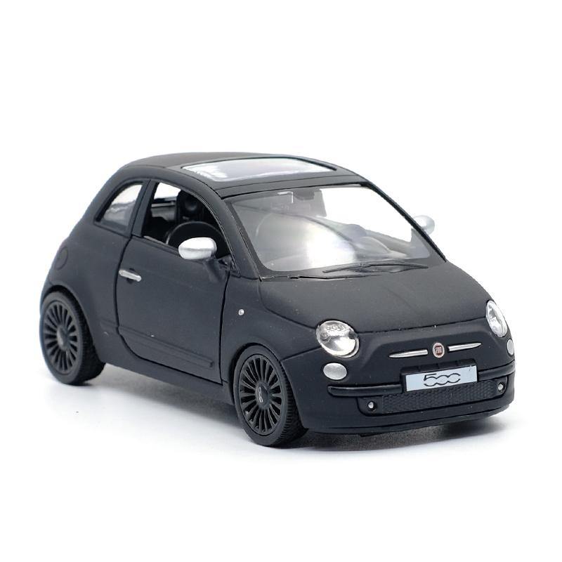 High Simulation Exquisite Diecasts & Toy Vehicles: RMZ City Car Styling FIAT 500 1:36 Alloy Diecast Car Model Pull Back Cars
