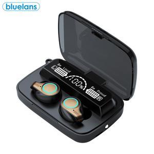Беспроводные наушники-вкладыши M18 TWS Bluetooth с шумоподавлением, Спортивная стерео Музыкальная гарнитура, эргономичный дизайн, наушники с микр...