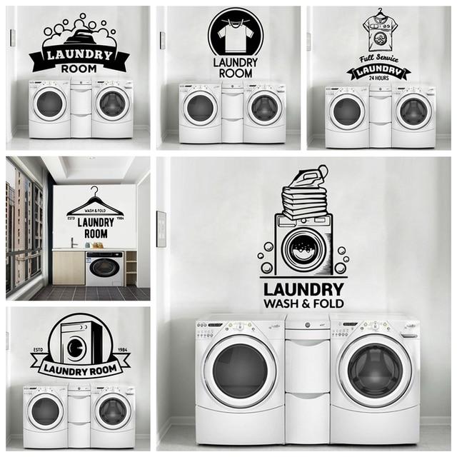Laundry Room Stickers