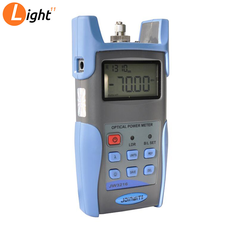 Free Shipping Joinwit JW3216C Fiber Optical Power Meter With USB And Data Storage Function(-50~+26dBm)