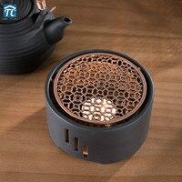 اليابانية شمعة التدفئة قاعدة الشاي دفئا الكونغفو حفل الشاي السيراميك المغلي شاي بالأعشاب المزهرة سخان براد شاي دفئا العزل قاعدة|إبريق الشاي|المنزل والحديقة -