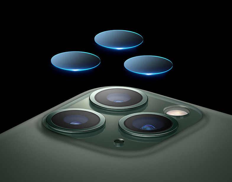 عودة كاميرا عدسة لينة الزجاج المقسى فليم السيليكون غطاء إطار هاتف محمول ل iphone 11Pro ماكس X XS ماكس XR حالات r ل أبل iphone 11 برو ماكس XS ماكس XR زجاج عليه طبقة غشاء رقيقة كوكه Fundas ل iphone 6 6 S 7 8 زائد
