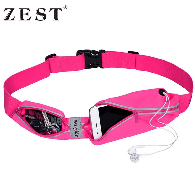 Unisex Sport Outdoor Gym Trail Run Running Waist Phone Bag Belt Pouch For Hiking Trekking A Case For Phone Bag Flipbelt