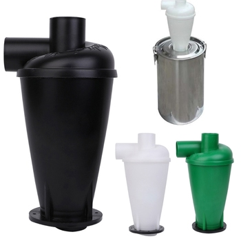 Cyclone Dust Collector Filter Turbocharged Cyclone With Flange Base Separator cyclone dust collect filter turbo charged cyclone with flange base separator vacuum cleaner household cleaning appliance u1je