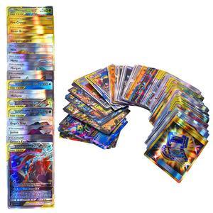 Image 3 - 120 قطعة مجموعة بطاقة البوكيمون يضم 30 فريق العلامة ، 50 ميجا ، 19 المدرب ، 1 الطاقة ، 20 الترا الوحش