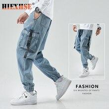 Tactical Pants Men Joggers Cargo Baggy Harem Japanese Streetwear Ankle Harajuku Casual Sport Vintage Hip Hop Jeans Pants Men 8XL