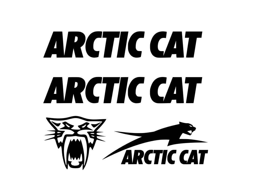 For 4  Arctic Cat Decal Sticker Sno Pro Xf Zr Hcr Limited F5 F7 F 5 800 Decals
