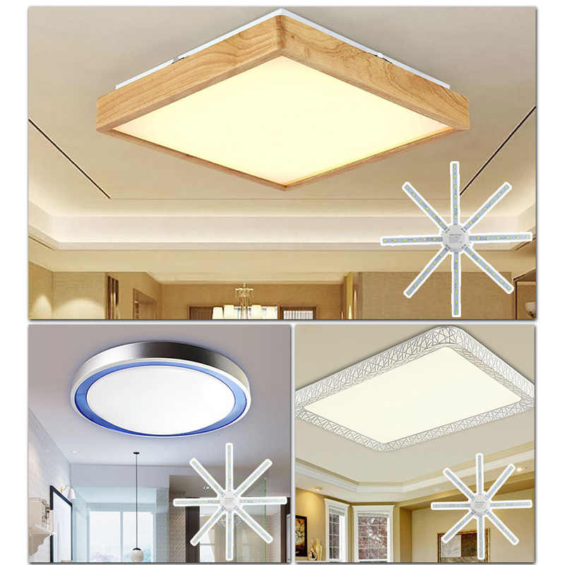LED Ceiling Lamp 12W 15 W 18W 20W 24W 220V PCB Papan Dimodifikasi Sumber Cahaya lampu LED Plat Gurita Tabung Hemat Energi Lampu Plafon