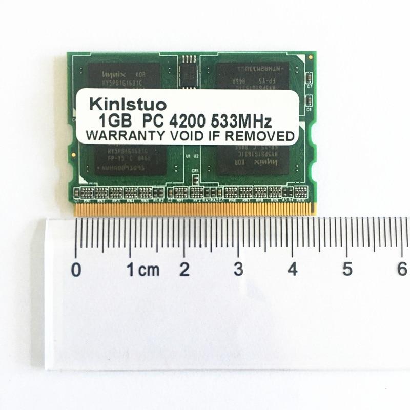 NEW memoria 1G 1GB PC2-4200 DDR2-400/533/667MHZ microDIMM 172pin Laptop Memory FOR Fujitsu Panasonic Laptop ram Free shipping
