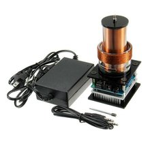 цена Tesla Coil Music Tesla Coil Tesla Coil Plasma Speaker Coil Power Supply 3.5mm Audio Pair Wiring Professional онлайн в 2017 году
