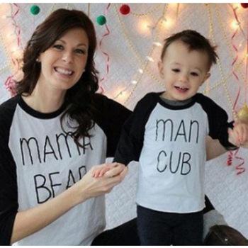 INS rodzic-dziecko dopasowany strój jesienna odzież 2020 w nowym stylu moda matka-kombinezon dla dzieci matka jesień i zima ubrania tanie i dobre opinie CN (pochodzenie)