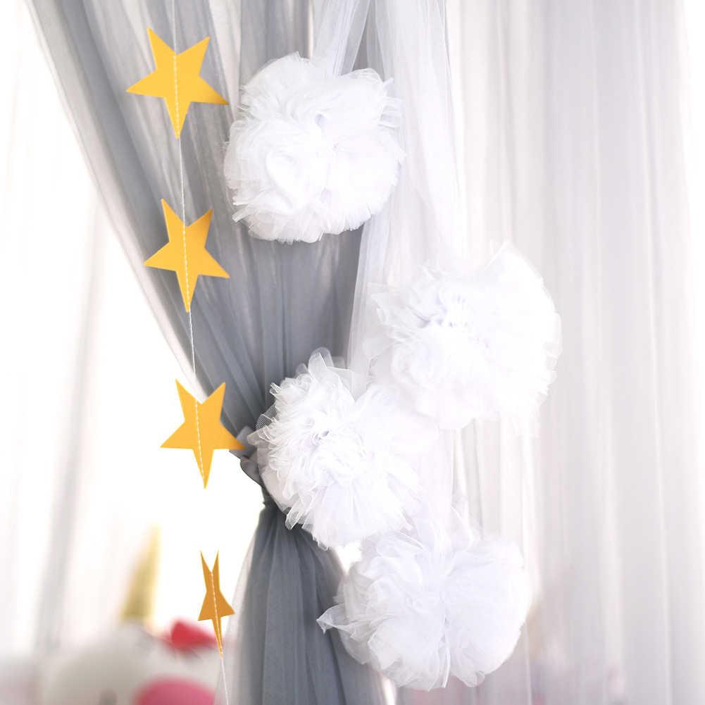 מסיבת אביזרי ילדי חתונה בית כילה קישוט זר כדור DIY לתלות קישוטי מתנת אופנה תינוק חדר Carft