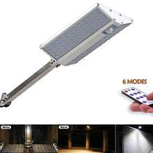 Farola Solar LED para exteriores, lámpara de pared con 6 modos de luz, impermeable, Sensor de movimiento al aire libre, PIR, para jardín, Plaza