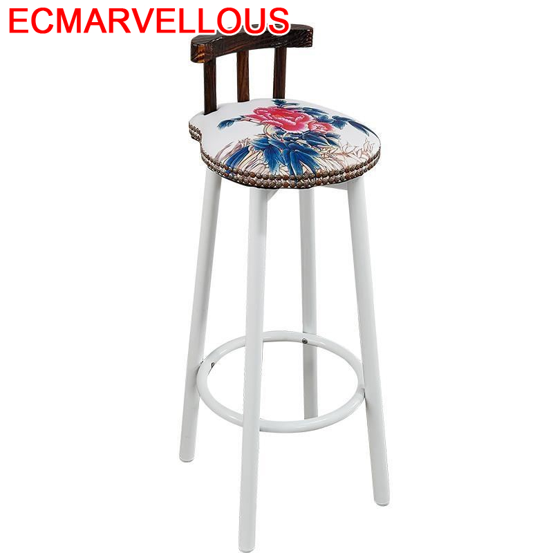 Tabouret De Comptoir Sandalyeler Taburete Banqueta Todos Tipos Sedia Stoel Stoelen Hokery Silla Stool Modern Cadeira Bar Chair