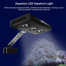 Reef Tank Aquarium Led Lighting Light Lamp For Marine Fish And Coral Blue White And Brightness Color Adjustable