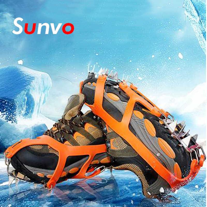 Cleats Snow Anti-Rutsch-Eisgreifer für Stiefel Schuhe Griffe Spikes Steigeisen