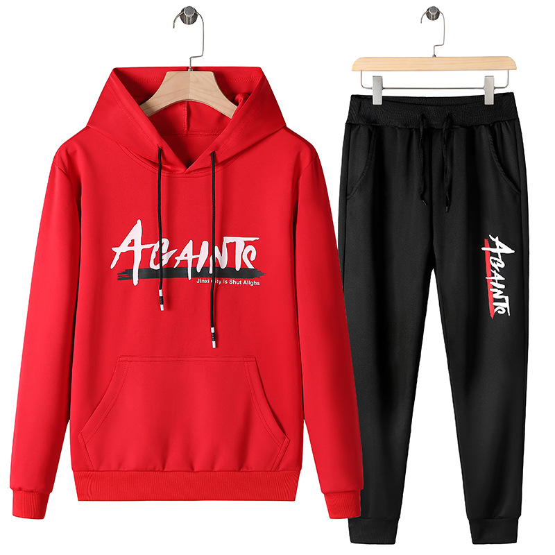 Autumn 2019 New Style Set Trend Xia T-shirt Men'S Wear Versitile Fashion Young And Middle-aged Long Sleeve Online Celebrity Casu