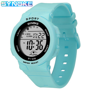 panars sports military children s watches student kids digital watch camouflage green fashion colorful led alarm clock for boys Boys Watches Kids SYNOKE Brand 5BAR Waterproof Digital Wristwatch Clock For Boys Girls Student Children LED Sports Kids Watch