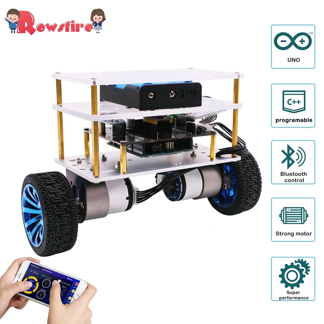 2019 New Balance Robot Car Compatible For Arduino Electronics Programmable High Tech Robotics Support C Language Kids Adult