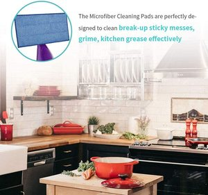 Image 5 - استبدال منصات ممسحة ستوكات لبداية ممسحة الرطب والجاف ، عبوات قابلة للغسل وقابلة لإعادة الاستخدام