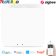 Zigbee Gateway Tuya Smart Zigbee Hub Bridge Smart Life App Voice Remote Control Wireless Small Size Work with Alexa Google Home