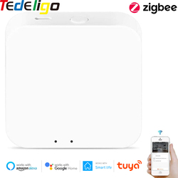 Zigbee Gateway Tuya Smart Zigbee Hub Bridge Smart Life App Voice Remote Control Wireless Small Size Work with Alexa Google Home