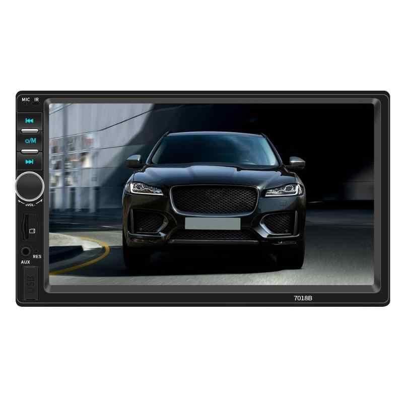 SWM 2 DIN Bluetooth Mobil Stereo MP5 Player 7 Inch Layar AUX USB TF FM Radio Di Dash Kepala Unit digital Media Receiver