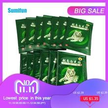 Sumifun 16Pcs Vietnam White Tiger Balm Pijn Patch Spier Schouder Nek Artritis Chinese Kruiden Medische Gips C068