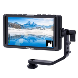 5 Inch DSLR On Camera Field Monitor Full HD 1920x1080 IPS Video Peaking Focus Assist with 4K HDMI 8.4V DC Input Output
