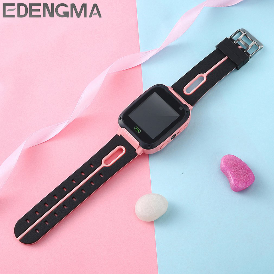 kids smart watch gift for children remote camera SOS  2G SIM card call phone smartwatch for Android iOS boy girl watch clock