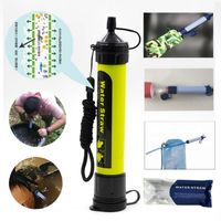 Outdoor Emergency Environmental Protection Drinking Water Tools Professional Water Filter Portable