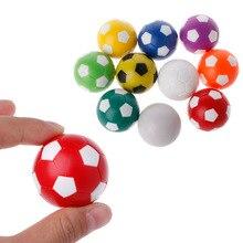 32 мм пластик настольный футбол стол футбол стол в помещении семья игра красочные спорт игрушки B36E