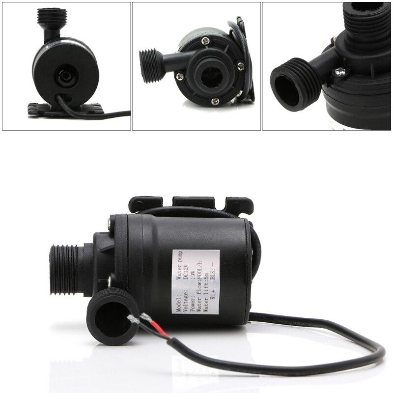 800L/H 5m DC 12V 24V Solar Water Heater Brushless Motor Circulation Water Pump